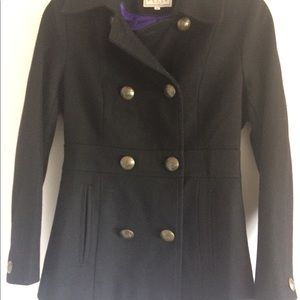 Jackets & Blazers - Pelle Studio Black Peacoat women's